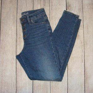 Universal Thread Buttonfly High Rise Skinny Jeans